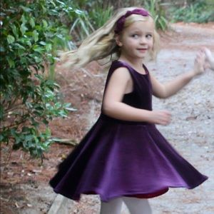 Jewel-toned holiday dress. Genuine Kids. Sz 5T